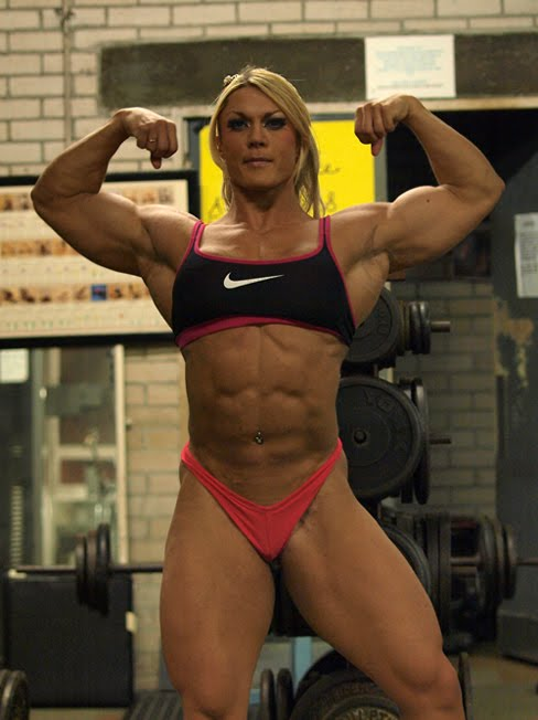 Lisa Cross Female Bodybuilder Muscle