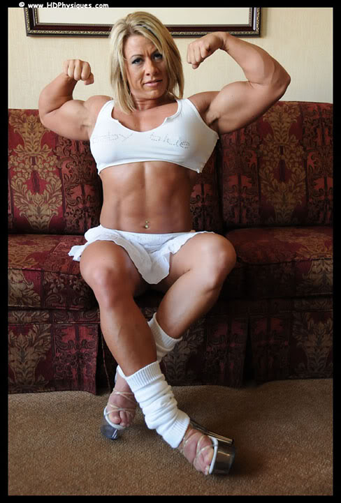 Female Bodybuilder Julie Bourassa Female Muscle HDPhysiques