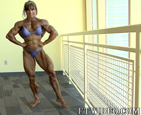 Mara Rita Bello Female Muscle Bodybuilder