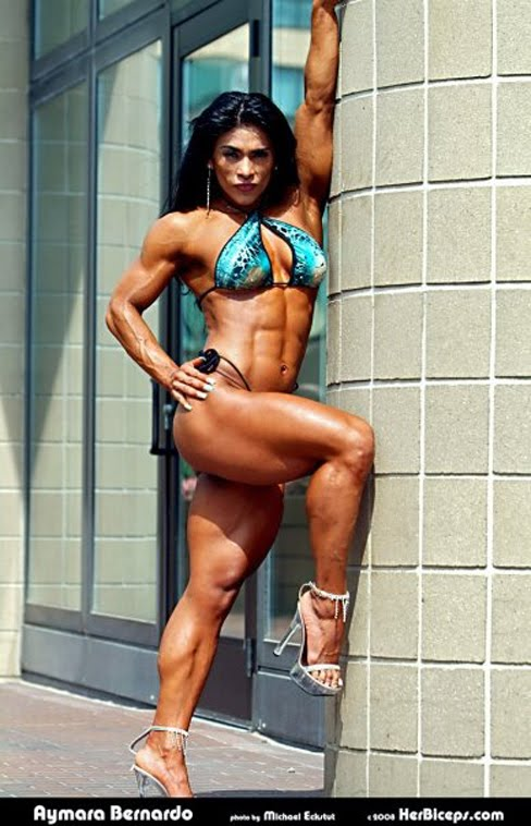 Aymara Muno Figure Competitor Female Muscle