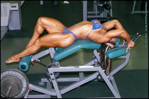 Betty Viana Female Muscle Bodybuilder IFBB Pro