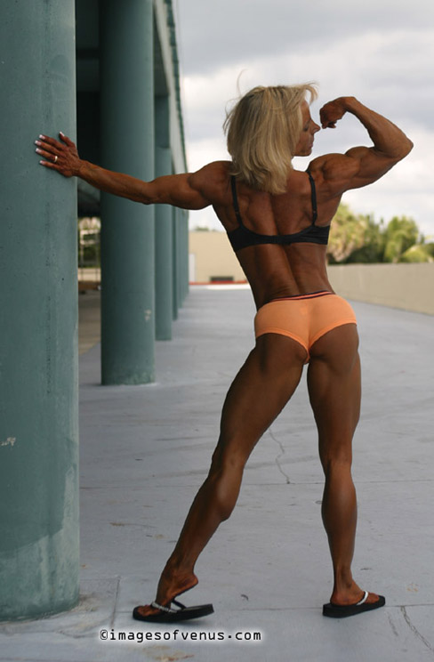 Michele Burdick Female Bodybuilder Muscle