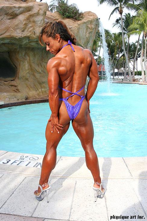 Barbara Fletcher Female Bodybuilder Muscle