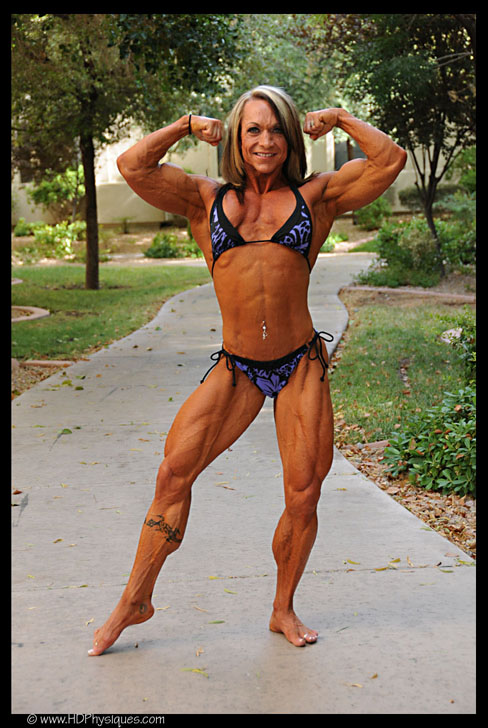 Claire O'Connell Female Muscle Bodybuilder HDPhysiques