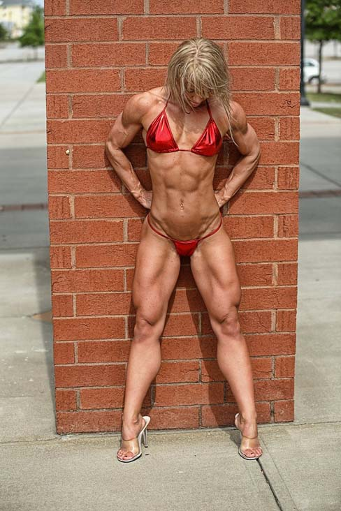 Andrea Swanson Female Muscle Figure Competitor