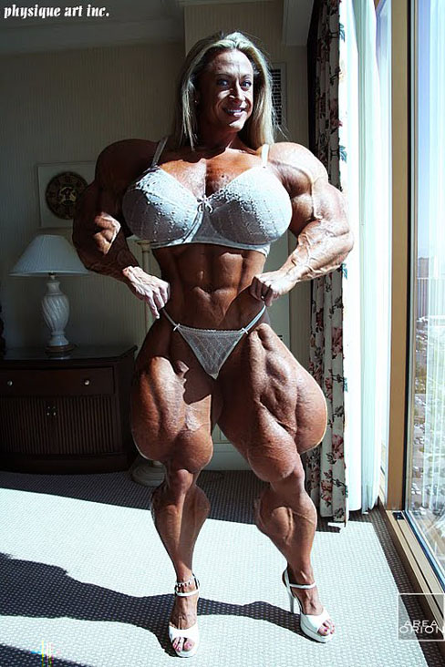 Heather Policky - Armbrust Female Muscle Morphs Bodybuilding