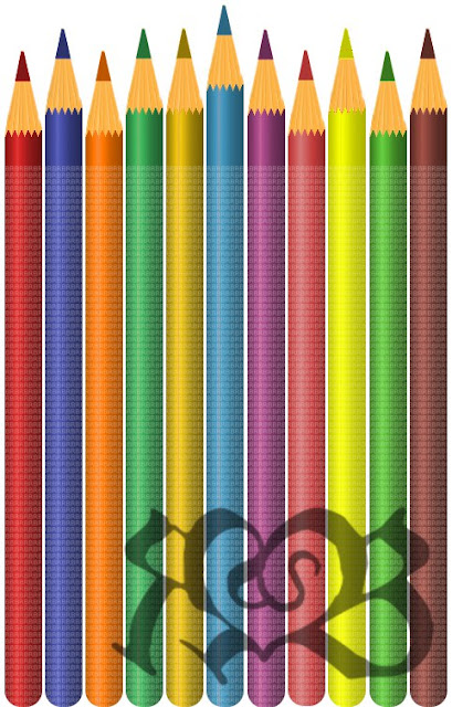 GIMP tutorial color pencil clip art