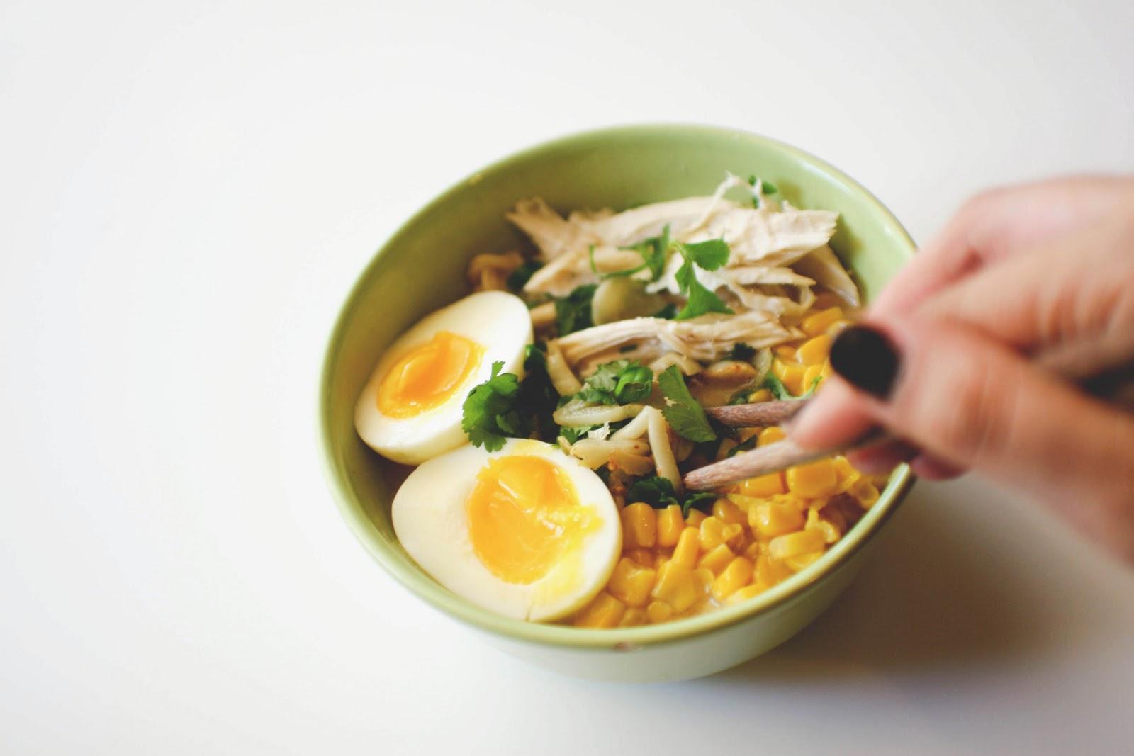 Une-deux senses: Chicken Miso Ramen
