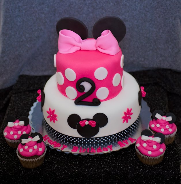 minnie mouse cake. We created this Minnie Mouse