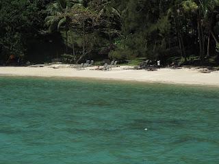 Manukan Island beach