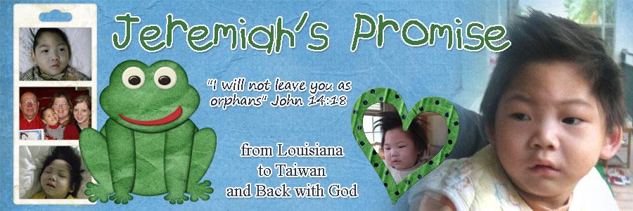 Jeremiah's Promise John 14:18