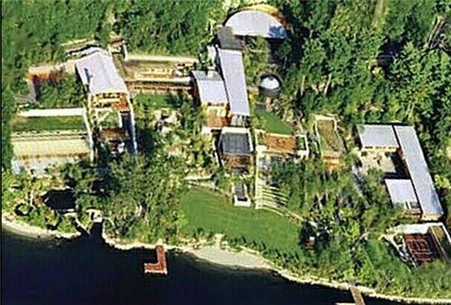 Marvelous Homes Bill Gates House