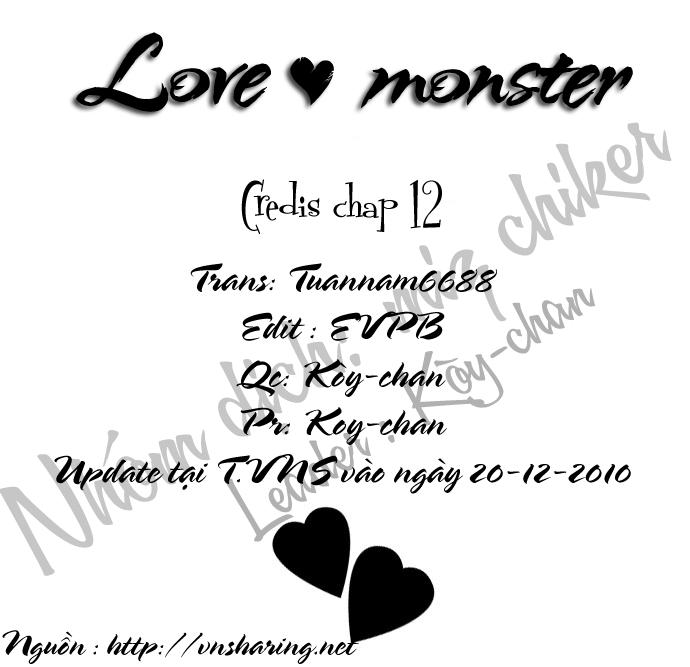 Love♥Monster chap 12 - Trang 26