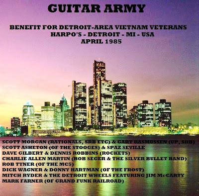 Guitar Army Benefit For Detroit-Area Vietnam Veterans Harpo'S, Detroit, MI - April 1985 Broadcast On WLLZ, Detroit