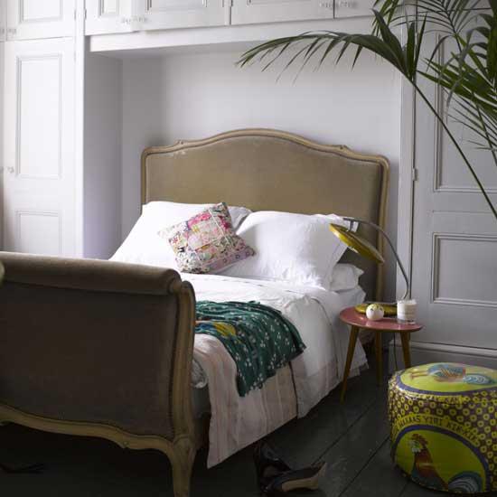 En mi espacio vital muebles recuperados y decoraci n vintage camas y cabeceros tapizados - Cabeceros tapizados vintage ...