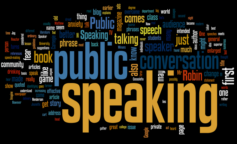 interesting public speaking text Public speaking unit 5: chapter 9 handout #2 four parts of an informative speech • give an interesting speech to guarantee a good questioning session.