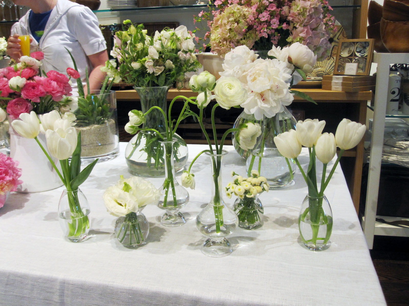 Live creating yourself pottery barn giveaway and a morning with another affordable centerpiece option is placing small bud vases along a lengthier table with little votives scattered throughout reviewsmspy