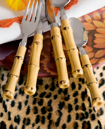 Live Creating Yourself.: The Look for Less: Bamboo Flatware