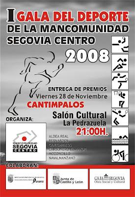 I Gala del Deporte Mancomunidad Segovia Centro