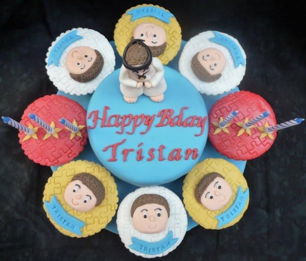 Dumont Cake Taekwondo cake cupcakes