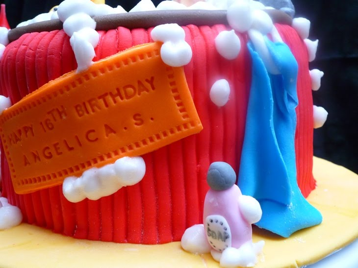 Dumont Cake: Angelica s spa day cake