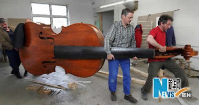 World's largest violin