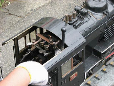 Smallest steam locomotive