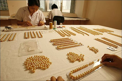 golden pearls produced island
