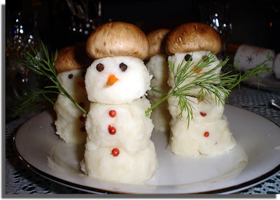 Potato Snowmen