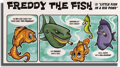 Freddy The Fish