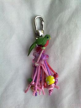 Quetzal de llavero