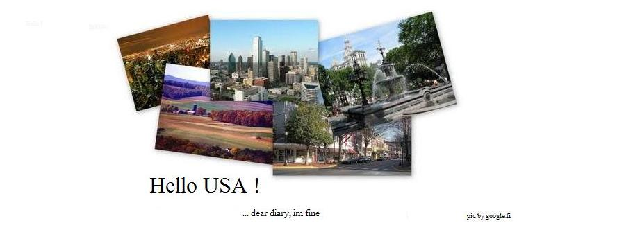 Hello USA !