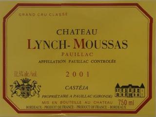 Château Lynch-Moussas - Pauillac