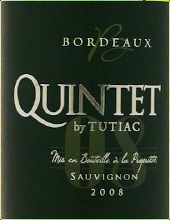 quintet by tutiac bordeaux