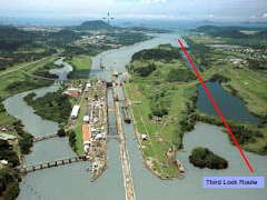 Panama Canal Expansion Route