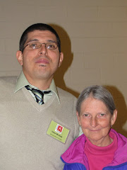 Victor Montoya and  Nancy Gepfert