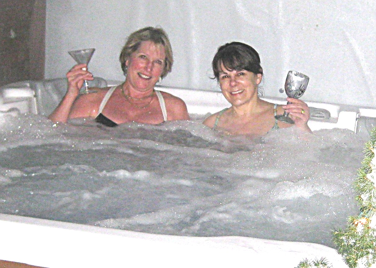 Fucking in the hot tub foto 74