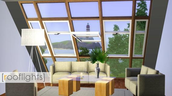 Janelas No Telhado By Madaya74 The Sims 3