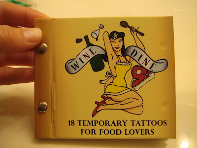 Ok, we know food tattoos are