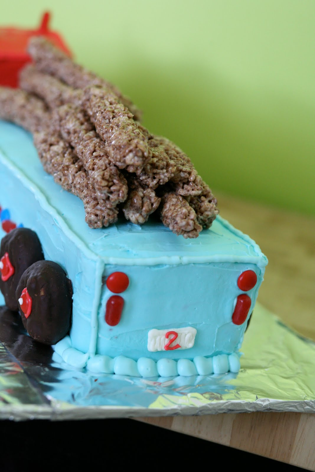 Bloom Box: Semi Truck Birthday Cake
