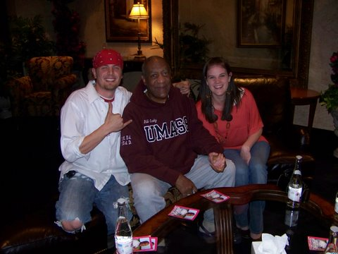 Hanging out with Bill cosby!