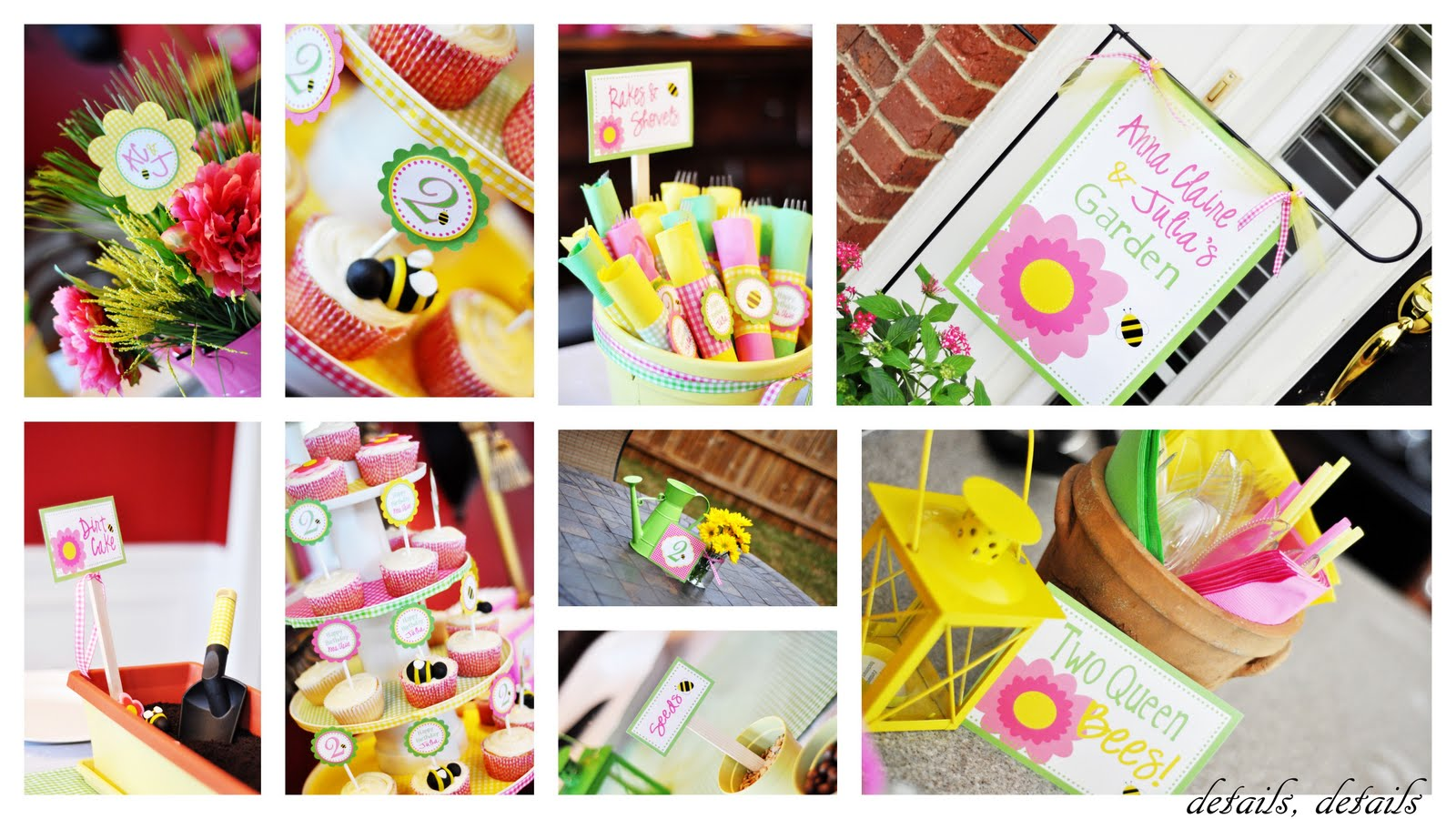 The Girls' Garden Party Picnic! - Sweet Peach Paperie