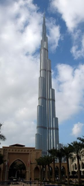 ICHEOKU, BEHOLD THE WORLD TALLEST BURJ KHALIFA!