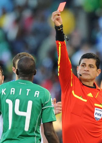 ICHEOKU, NIGERIA EAGLES EXITS FROM SOUTH AFRICA 2010?