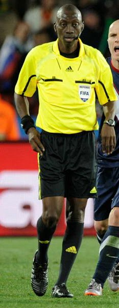 Koman Coulibaly of Mali, THE REFEREE FROM HELL ROBS TEAM-USA VICTORY?