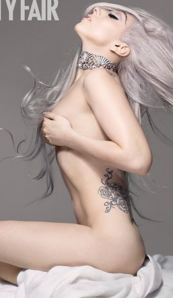 LADY GAGA GOES BUTT NAKED WITH VANITY FAIR!