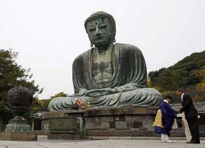 PRESIDENT BARACK OBAMA, NOW A BUDDHIST?