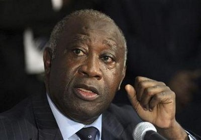 DEFEATED IVORY COAST 'PRESIDENT' GBADABO, REFUSES TO YIELD POWER!
