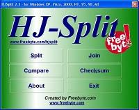 Menggabungkan file dengan HJSPLIT