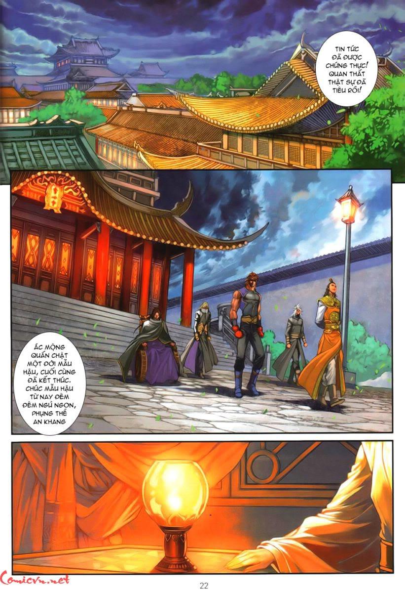 Ôn Thụy An Quần Hiệp Truyện chap 93 Trang 20